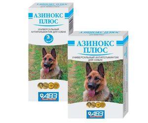 Азинокс плюс: инструкция по применению для собак и кошек.