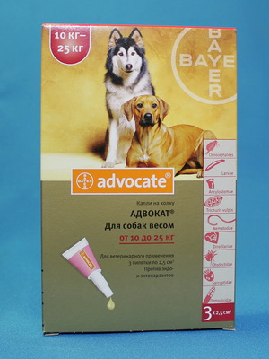 адвокат капли для собак инструкция цена украина